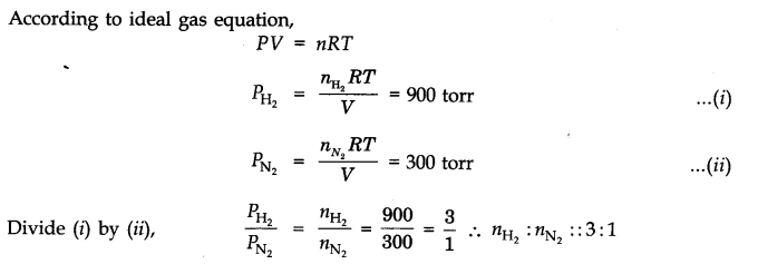NCERT Solutions for Class 11 Chemistry Chapter 5 States of Matter SAQ Q8.1