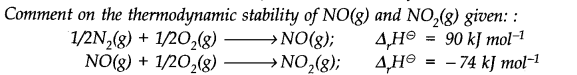 NCERT Solutions for Class 11 Chemistry Chapter 6 Thermodynamics Q21