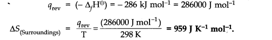 NCERT Solutions for Class 11 Chemistry Chapter 6 Thermodynamics Q22.1