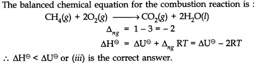 NCERT Solutions for Class 11 Chemistry Chapter 6 Thermodynamics Q4.1