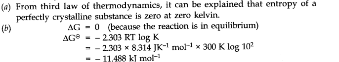 NCERT Solutions for Class 11 Chemistry Chapter 6 Thermodynamics SAQ Q11.1