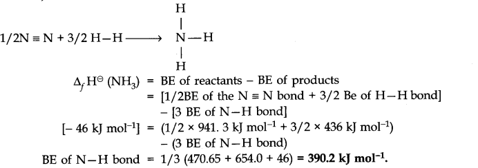 NCERT Solutions for Class 11 Chemistry Chapter 6 Thermodynamics SAQ Q4