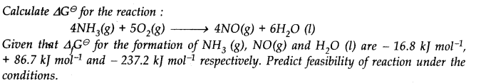 NCERT Solutions for Class 11 Chemistry Chapter 6 Thermodynamics SAQ Q6