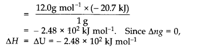 NCERT Solutions for Class 11 Chemistry Chapter 6 Thermodynamics SAQ Q8