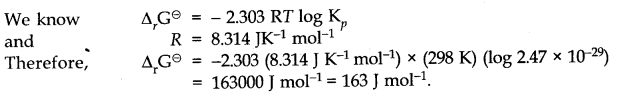 NCERT Solutions for Class 11 Chemistry Chapter 6 Thermodynamics SAQ Q9.1