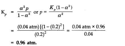 NCERT Solutions for Class 11 Chemistry Chapter 7 Equilibrium LAQ Q2.1