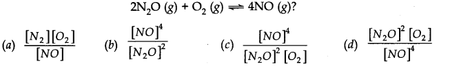 NCERT Solutions for Class 11 Chemistry Chapter 7 Equilibrium MCQ Q3