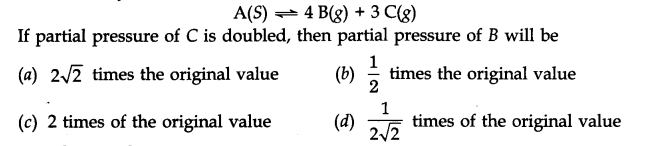NCERT Solutions for Class 11 Chemistry Chapter 7 Equilibrium MCQ Q6