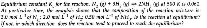 NCERT Solutions for Class 11 Chemistry Chapter 7 Equilibrium Q20