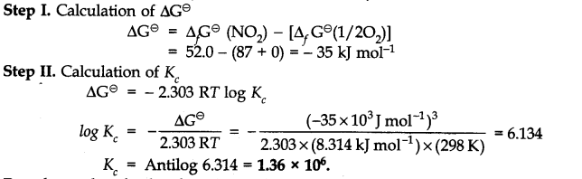 NCERT Solutions for Class 11 Chemistry Chapter 7 Equilibrium Q23.1