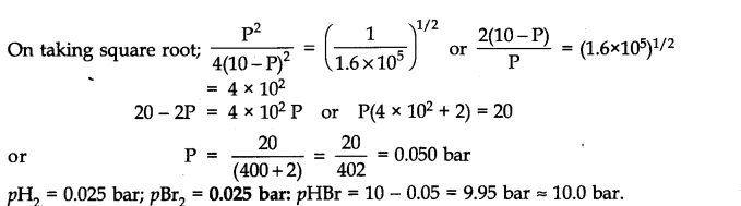 NCERT Solutions for Class 11 Chemistry Chapter 7 Equilibrium Q26.2
