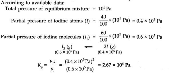 NCERT Solutions for Class 11 Chemistry Chapter 7 Equilibrium Q3.1