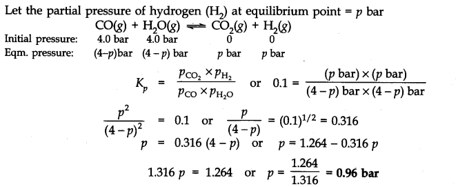 NCERT Solutions for Class 11 Chemistry Chapter 7 Equilibrium Q30.1