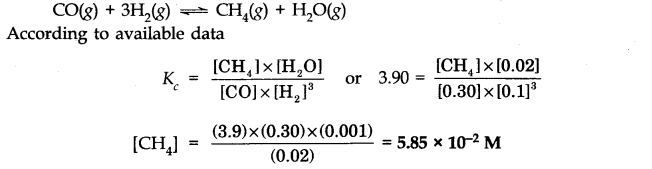 NCERT Solutions for Class 11 Chemistry Chapter 7 Equilibrium Q33.1