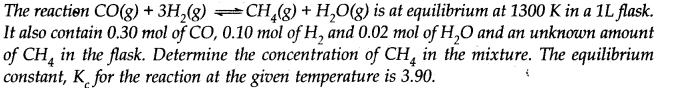 NCERT Solutions for Class 11 Chemistry Chapter 7 Equilibrium Q33