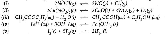 NCERT Solutions for Class 11 Chemistry Chapter 7 Equilibrium Q4