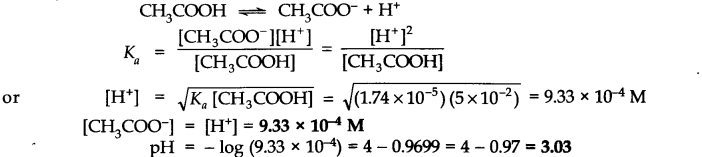 NCERT Solutions for Class 11 Chemistry Chapter 7 Equilibrium Q45