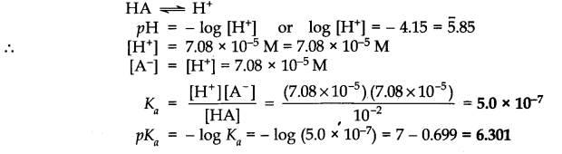 NCERT Solutions for Class 11 Chemistry Chapter 7 Equilibrium Q46