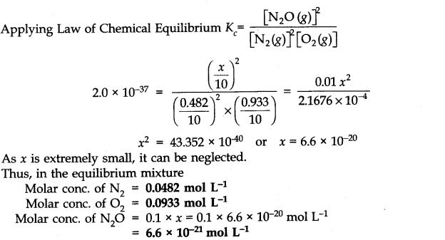 NCERT Solutions for Class 11 Chemistry Chapter 7 Equilibrium Q8.3