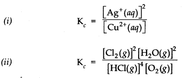 NCERT Solutions for Class 11 Chemistry Chapter 7 Equilibrium SAQ Q2.1