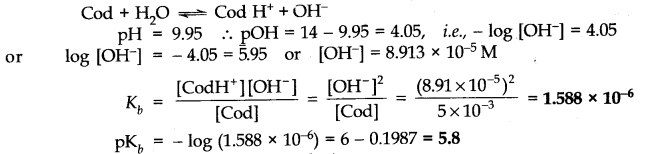NCERT Solutions for Class 11 Chemistry Chapter 7 Equilibrium VSAQ Q3