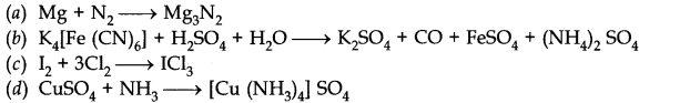NCERT Solutions for Class 11 Chemistry Chapter 8 Redox Reactions MCQ Q8