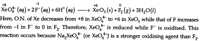 NCERT Solutions for Class 11 Chemistry Chapter 8 Redox Reactions Q16.1