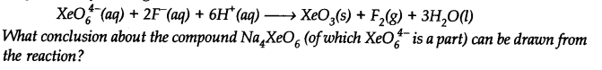 NCERT Solutions for Class 11 Chemistry Chapter 8 Redox Reactions Q16