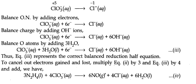 NCERT Solutions for Class 11 Chemistry Chapter 8 Redox Reactions Q19.3