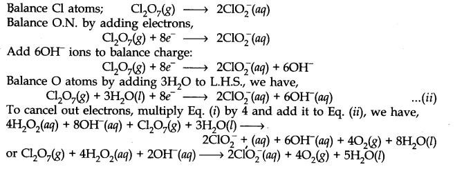 NCERT Solutions for Class 11 Chemistry Chapter 8 Redox Reactions Q19.5