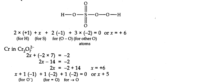 NCERT Solutions for Class 11 Chemistry Chapter 8 Redox Reactions Q5