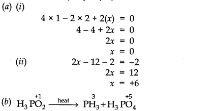 NCERT Solutions for Class 11 Chemistry Chapter 8 Redox Reactions SAQ Q10