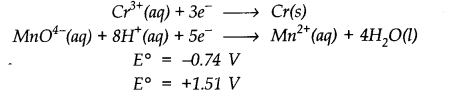 NCERT Solutions for Class 11 Chemistry Chapter 8 Redox Reactions SAQ Q3