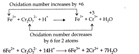 NCERT Solutions for Class 11 Chemistry Chapter 8 Redox Reactions SAQ Q4