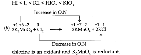 NCERT Solutions for Class 11 Chemistry Chapter 8 Redox Reactions SAQ Q6