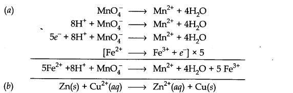 NCERT Solutions for Class 11 Chemistry Chapter 8 Redox Reactions SAQ Q8.1
