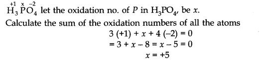 NCERT Solutions for Class 11 Chemistry Chapter 8 Redox Reactions VSAQ Q6