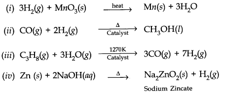 NCERT Solutions for Class 11 Chemistry Chapter 9 Hydrogen Q6.1