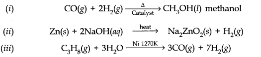 NCERT Solutions for Class 11 Chemistry Chapter 9 Hydrogen SAQ Q10.1