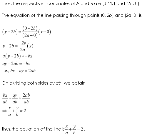 NCERT Solutions for Class 11 Maths Chapter 10 Straight Lines Ex 10.2 Q18.2