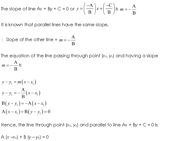 NCERT Solutions for Class 11 Maths Chapter 10 Straight Lines Ex 10.3 Q11.1