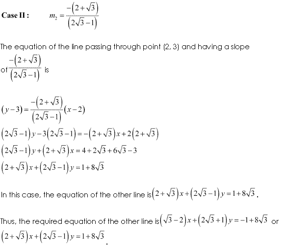 NCERT Solutions for Class 11 Maths Chapter 10 Straight Lines Ex 10.3 Q12.3