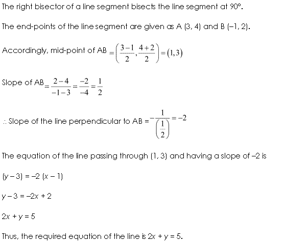NCERT Solutions for Class 11 Maths Chapter 10 Straight Lines Ex 10.3 Q13.1