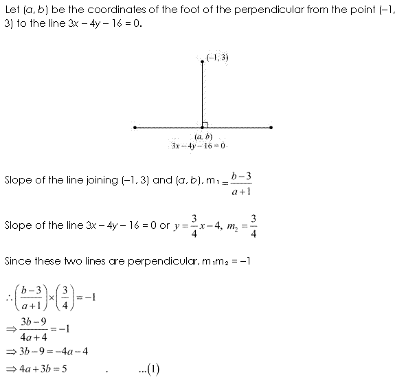 NCERT Solutions for Class 11 Maths Chapter 10 Straight Lines Ex 10.3 Q14.1