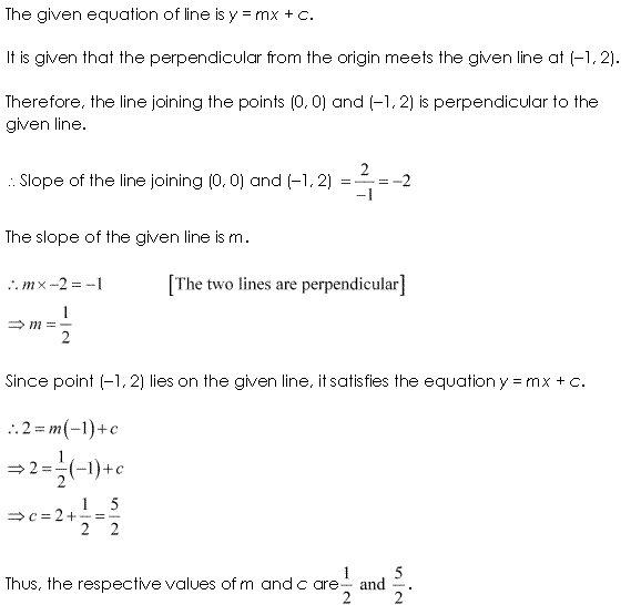 NCERT Solutions for Class 11 Maths Chapter 10 Straight Lines Ex 10.3 Q15.1