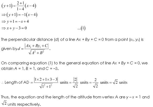 NCERT Solutions for Class 11 Maths Chapter 10 Straight Lines Ex 10.3 Q17.2