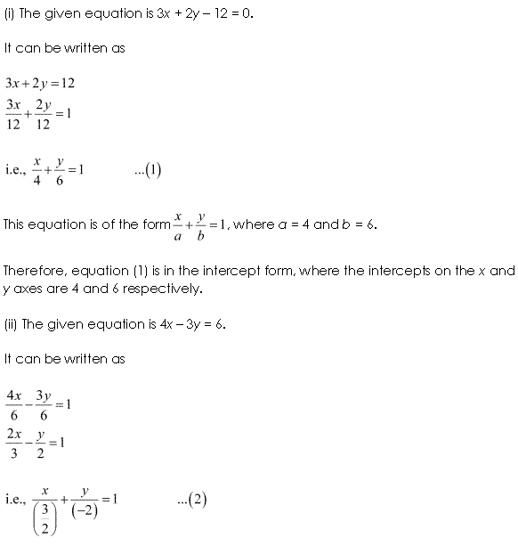 NCERT Solutions for Class 11 Maths Chapter 10 Straight Lines Ex 10.3 Q2.1