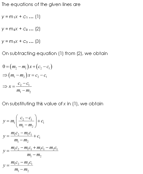 NCERT Solutions for Class 11 Maths Chapter 10 Straight Lines Miscellaneous Ex Q10.1