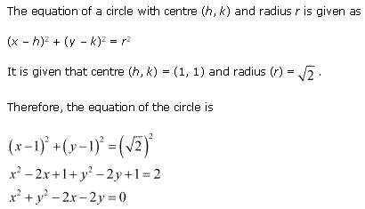 NCERT Solutions for Class 11 Maths Chapter 11 Conic Sections Ex 11.1 Q4.1