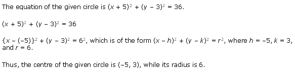 NCERT Solutions for Class 11 Maths Chapter 11 Conic Sections Ex 11.1 Q6.1